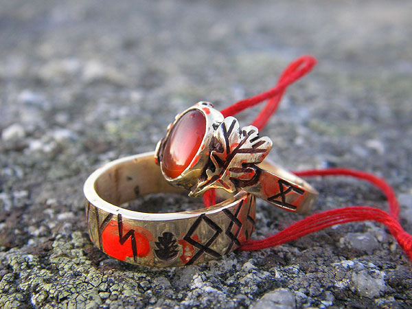 Runic Wedding Rings